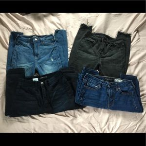 Set of 4 jeans